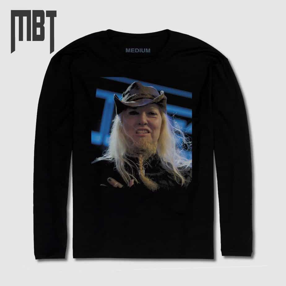 3a768168 Warrel Dane Long Sleeve T-Shirt, Warrel Dane Sanctuary Long Sleeve Tee-Shirt,  Nevermore – MBT Merchandise