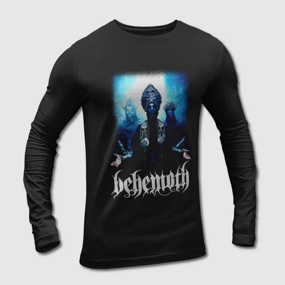 82377a8d39363 Behemoth Long Sleeve T-Shirt, Behemoth Ilyayd Artwork Long Sleeve Tee-Shirt