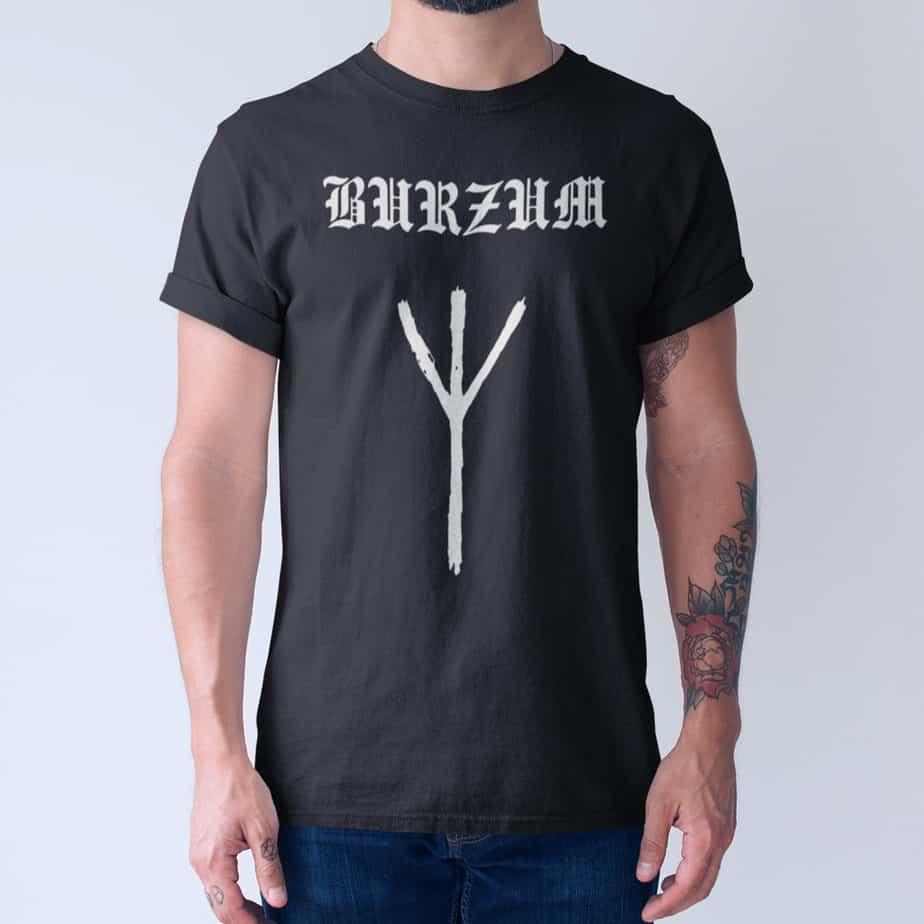 Burzum T-Shirt, Burzum Draugen – Rarities Tee-Shirt – MBT ...