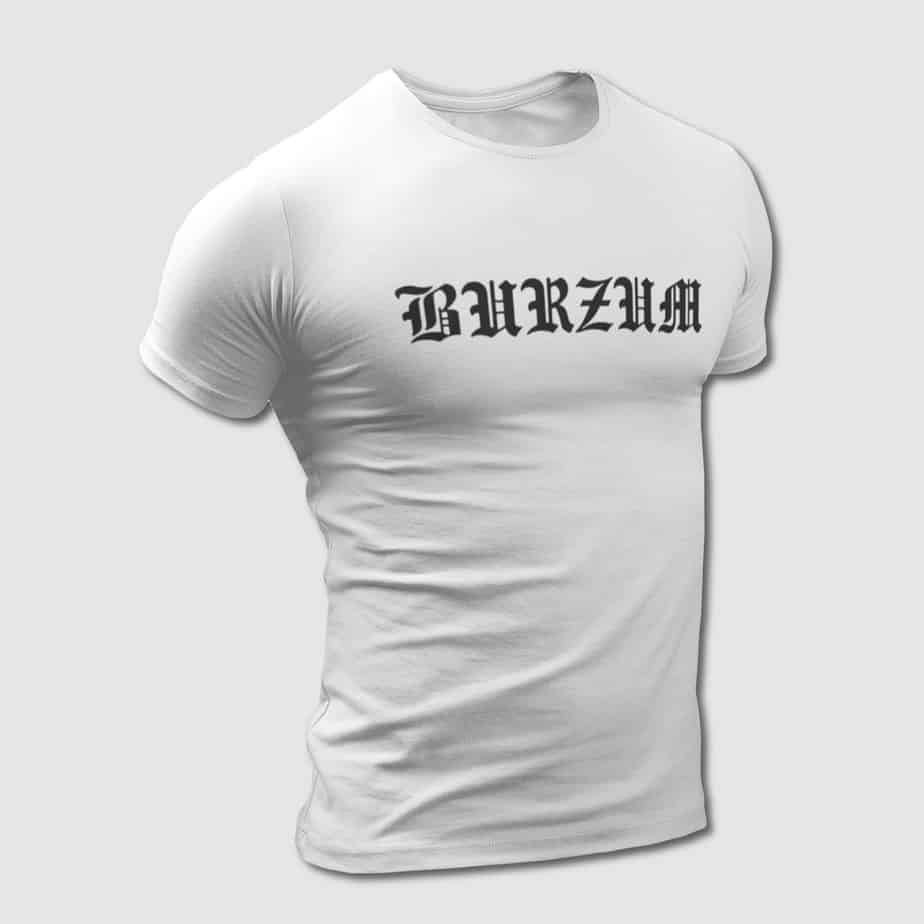 Burzum T-Shirt, Burzum Logo Tee-Shirt – MBT Merchandise