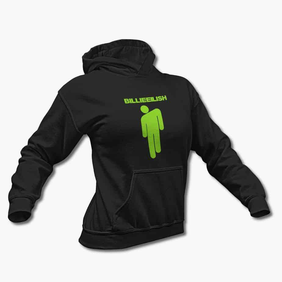 oversized   Billie eilish merch, Black hoodie, Hoodies